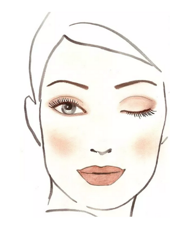 Makeup Look at HOME-1