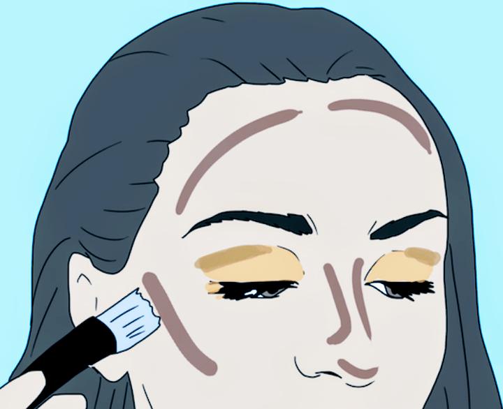 Makeup Look at HOME-10