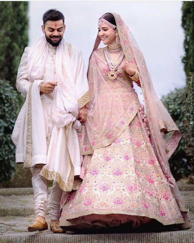 Anushka Sharma & Virah Kohli Wedding