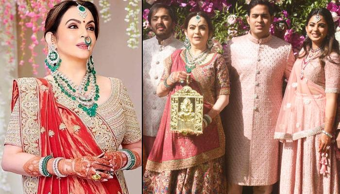 Nita Ambani's Perfect Traditional Looks For The Mother Of A Bride