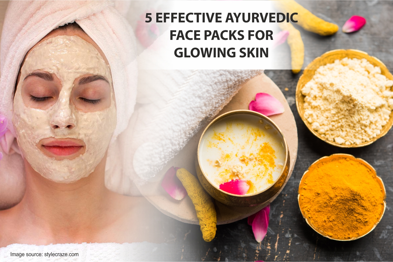 8 Homemade Face pack for glowing skin - MakeupNoor Official Blog