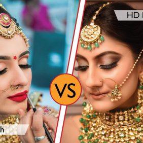 Airbrush Makeup Vs HD Makeup
