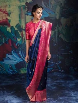 Reusing Mother's Old Saree for Your Mehendi Outfit