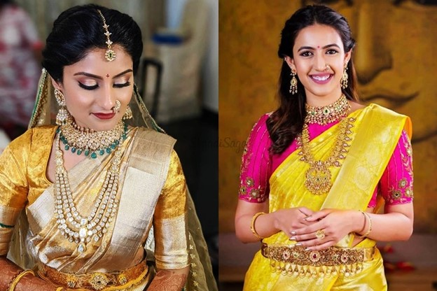 Handpicked Bridal Sarees for Reception Party To Wishlist in 2021